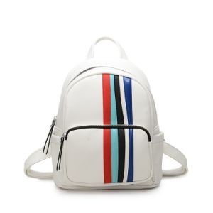 Colorful Pinstripes Simple Style Backpacks