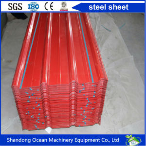 Color Coated Steel Sheet Roofing Made of Prepainted Galvanized Steel Sheet for Prefabricated Building pictures & photos
