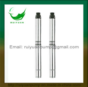 100qjd Good Quality Deep Well Submersible Pump Borehole Pump Water Pompa with Ce Approved pictures & photos