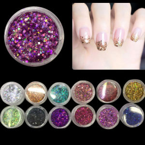 Nail Art Powder Decoration Tips Dust for UV Gel Acrylic pictures & photos