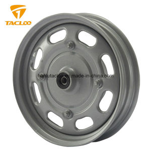 China Manufacturer OEM 10 Inch Steel Wheel/Alloy Wheel for Motorcycle