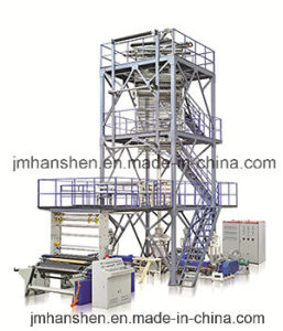 Three Layer Plastic Film Making Machine pictures & photos