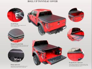 100% Fitment Rolling Truck Bed Cover for RAM 1500 Express Crewcab Double Cab 2014+ pictures & photos