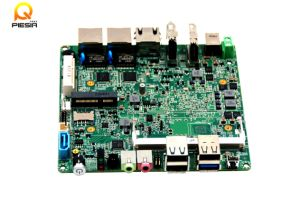 Bay Trail Motherboard Dual LAN Quad Core Mainboard J1900 Nano Itx Motherboard 12*12cm pictures & photos