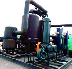 Zero Consumption, Low Pressure, Steam Drum Wind Regenerative Dryer
