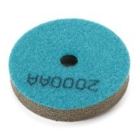4 Inch Sponge Polishing Pad 2000 Grit Type2 Blue pictures & photos