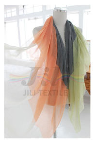 Lovely Several Colours Combine Color Blocking Style Print Long Winter Women Scarf