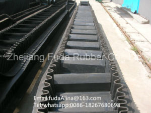 Wholesale New Age Products Rubber Conveyor Belt with Sidewall and Big Angle Sidewall Conveyor Belt pictures & photos