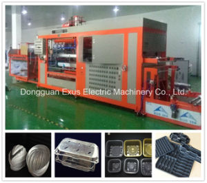 High Speed Automatic Plastic Vacuum Forming Machine for PP Plastic Tray