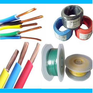 PVC Insulated Electrical Wire Cable Copper Wire pictures & photos