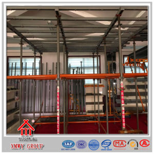 Q235 Metal Modular Quicklock Scaffolding Firm Structure Design