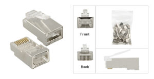FTP/SFTP Cat5e /CAT6 /Cat7 RJ45 Plug Connector pictures & photos