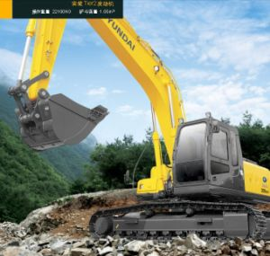 Best Quality Best Price Brand New Hyundai Crawler Excavator 22ton (R225LC-7) pictures & photos
