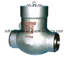 Cast Steel 600lbs Thread End Swing Check Valve with CE pictures & photos