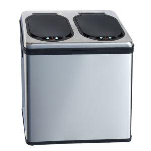 Sensor Trash Bin With 2 Separate Bo
