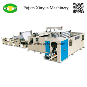 Non Stop Automatic Toilet Paper Machine Production Line Price pictures & photos