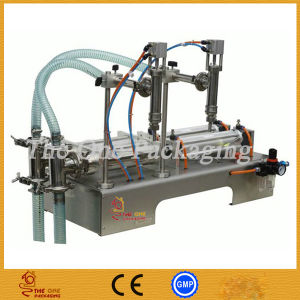 Double Heads Liquid Filling Machine/ Bottle Filler