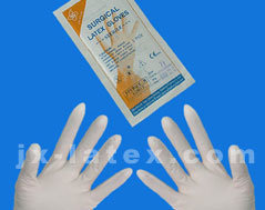 Sterile Latex Surgical Gloves (68x25x42cm)
