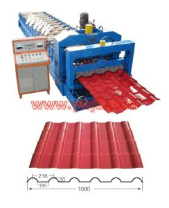 Standard Roof Tile Roll Forming Machine (YX20-216-1080)