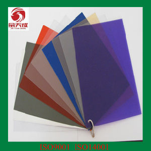 China Transparent Colored Plastic Sheets - China Transparent Plastic ...