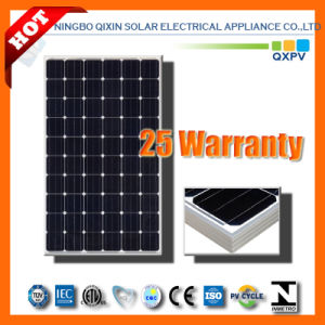 255W 156mono Silicon Solar Module with IEC 61215, IEC 61730 pictures & photos