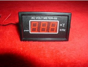 Voltage and Frequency Meter Combo Meter for Diesel or Gas Generator