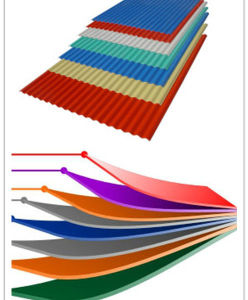 Color Corrugated PPGI for Roofing Sheet