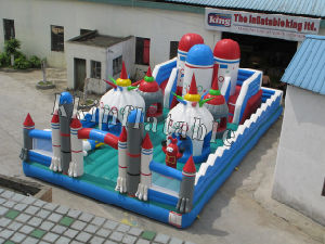 Inflatable Fun City-Infltable Amusement Park-Bouncing Park (kk-p-03)