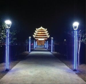 Aluminum Alloy Garden Lights, 3m, 4m, 5m, OEM