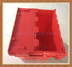 Customized Stackable Plastic Logistic Storage Box with Lid for Sale
