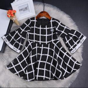 4044e2aa64be4 Girls′ Dress 2018 Spring Festival New Western Style Long-Sleeve Princess  Dress