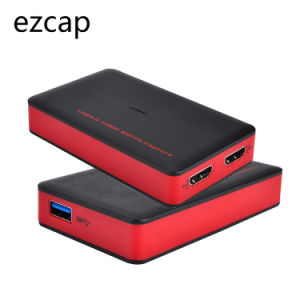 Ezcap HDMI to USB 3 0 Video Capture Card 1080P 60fps Full HD Video  Recording Support Live Streaming, Compatible with Windows Mac Linux