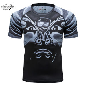 Cody Lundin Custom Sublimation Short Sleeve Lacrosse Sports Shooting Men T-Shirt
