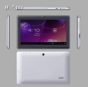 7 Inch Dual Core Tablet PC with 1 2GHz+DDR3 512MB Memory+4GB Flash+Android  4 2+5 Points Touch Screen