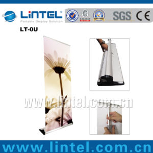 Retractable Banner Stand Advertising Adjustable Roll up Banner pictures & photos
