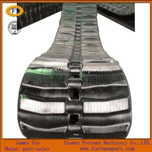 Rubber Crawler Track for Mini Excavator Skid Steer Loader pictures & photos