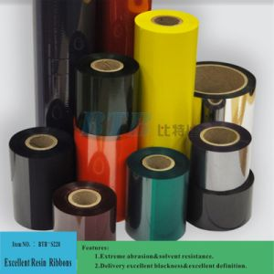 High Compatible Color Resin Thermal Transfer Printer Ribbon