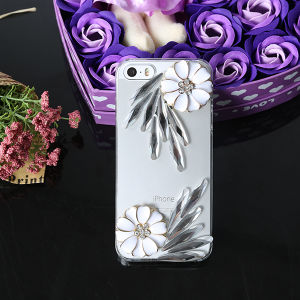 3D Bling Rhinestone PC Cell Phone Case for Bbk X5/Y29/Y28/S11