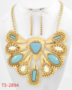 China Hot Sale Fashion Jewelry Set Indian Bridal Jewelry Sets For