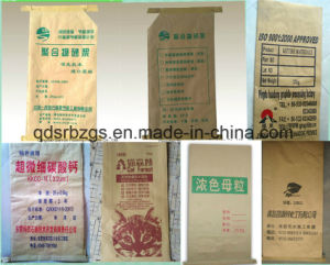 China Made Mortar Kraft Paper Woven Bag pictures & photos