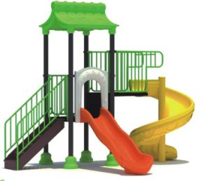 2014 Hot Selling Outdoor Children Amusment Playground Slide with GS and TUV Certificate (QQ-MN022) pictures & photos