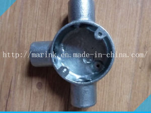 Galvanized Malleable Iron Conduit Box Bs4568/En50086 Tee Box pictures & photos