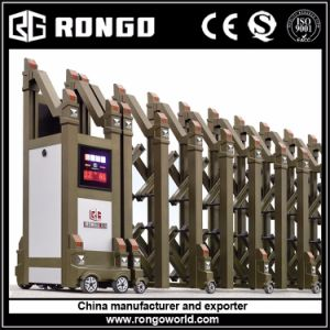 Rongo Brand Newest Design Accordion Main Gate