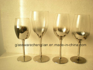 Electro Coated Wine Glass (HYB-05) pictures & photos
