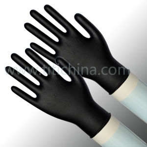 High Quality Disposable Nitrile Gloves Medical Gloves pictures & photos