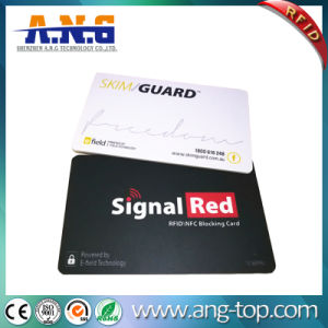 High Security Professional Anti Scan RFID Chip Card Wallet Protector pictures & photos