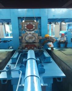 Cold Rolling Work Roll Changing Machine