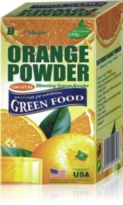 Slimming Orange Powder of Fat Loss Fruit