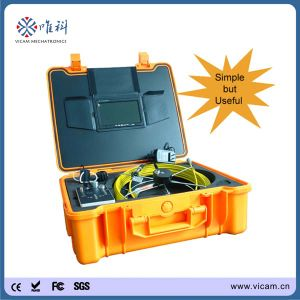 Drain Inspection Camera System with 20m Fiberglass Cable and DVR pictures & photos