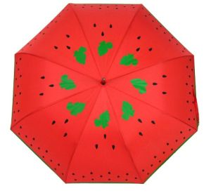 Watermelon Umbrella Female Umbrella (BR-ST-55) pictures & photos